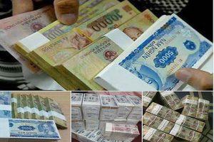 đổi tiền lẻ ở đâu phí thấp